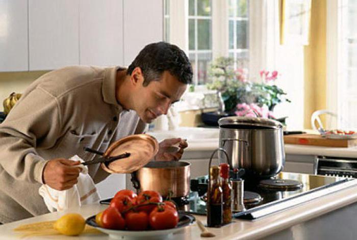 Научится готовить мужчине