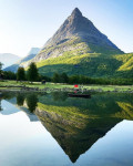 Великолепный вид озера