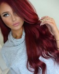 Рыжая девушка